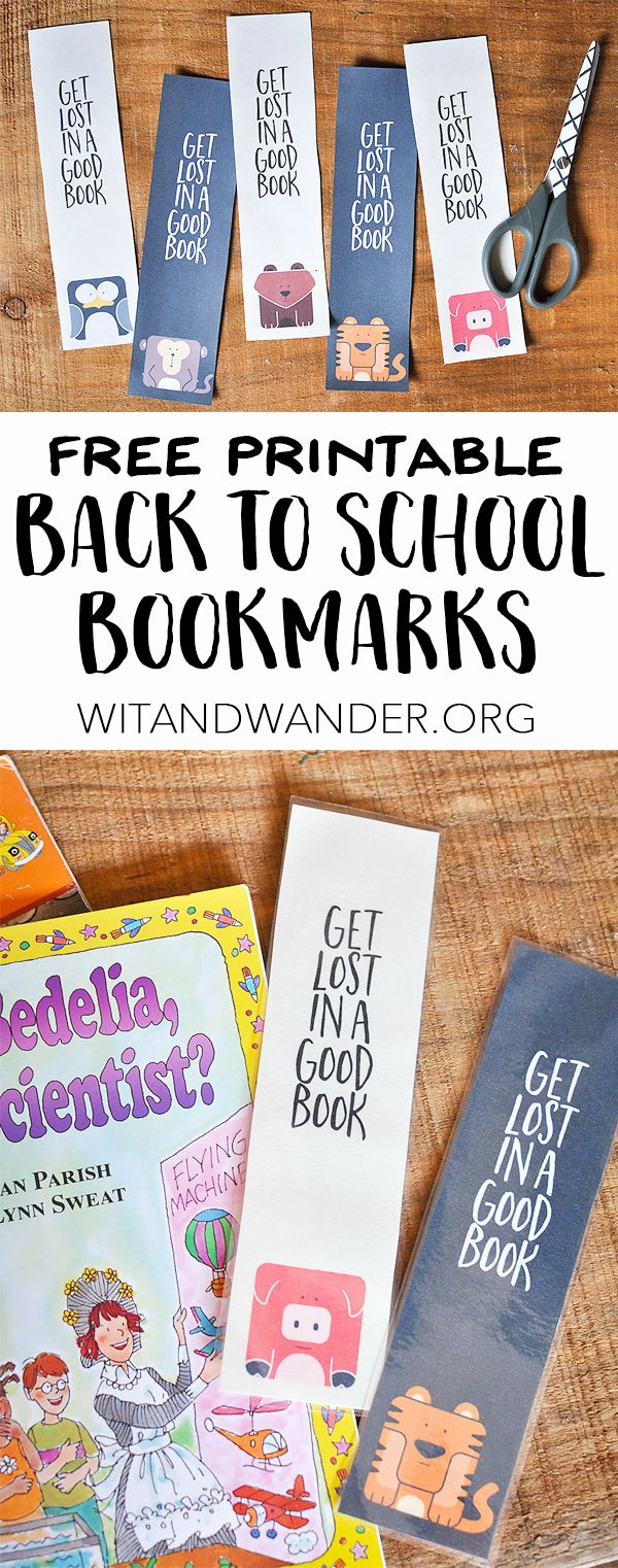 Free Bookmarks for Schools Fresh Free Printable Bookmarks Start School Like A Champion