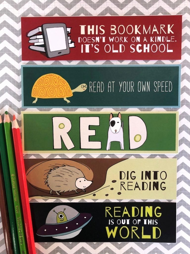 Free Bookmarks for Schools Inspirational Free Printable Bookmarks for Kids Weareteachers