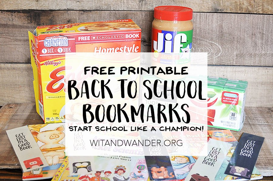 Free Bookmarks for Schools Luxury Free Printable Bookmarks Start School Like A Champion