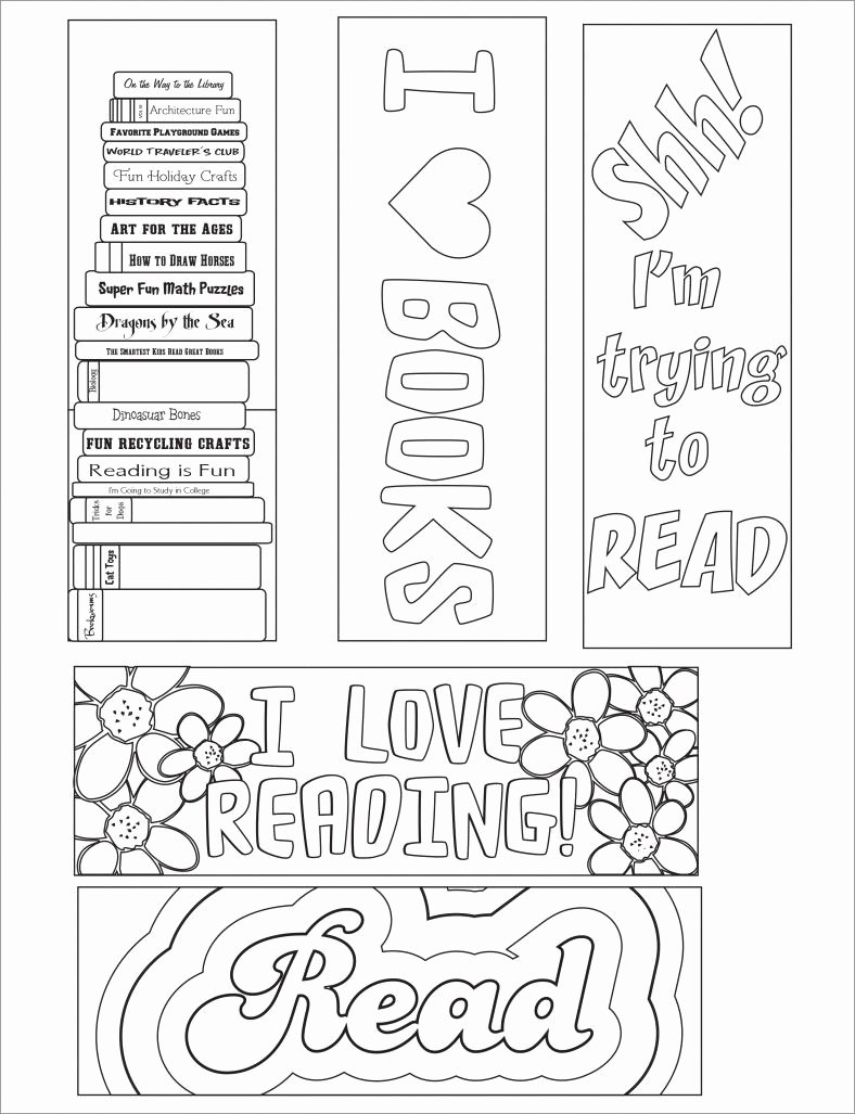 Free Bookmarks for Schools New Blank Bookmark Template Bookmark Template