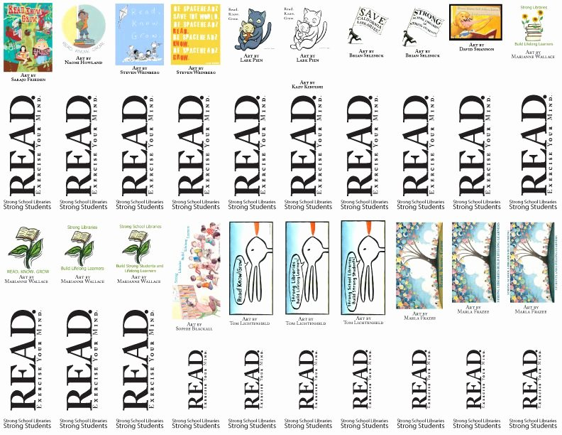 Free Bookmarks for Schools Unique Free Printable Bookmarks From California School Library