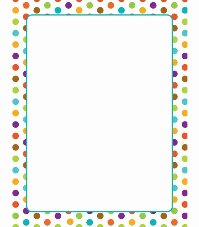 Free Border Templates for Teachers Awesome Free Printable Border Paper for Teachers Template