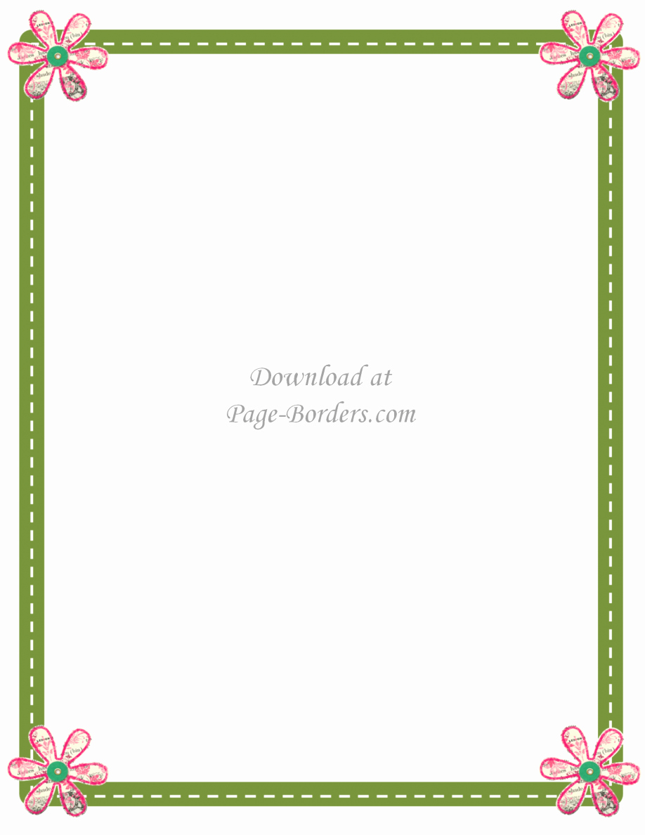 Free Border Templates for Teachers Elegant Printable Paper with Border Lined Christmas Free for
