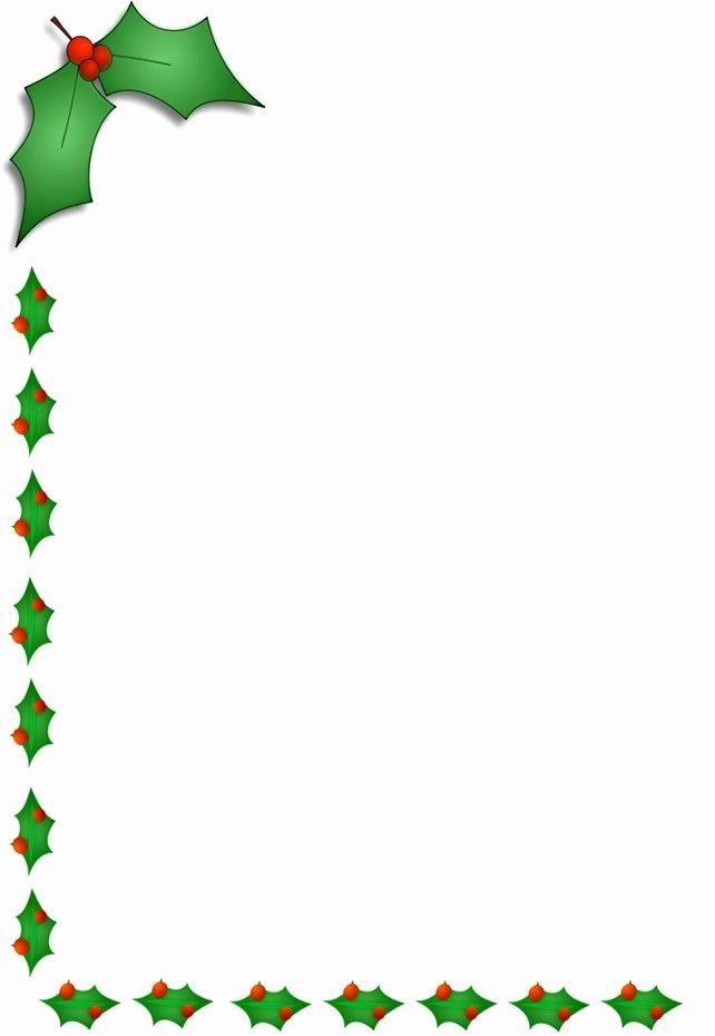 Free Borders for Publisher Unique Christmas Border Clip Art