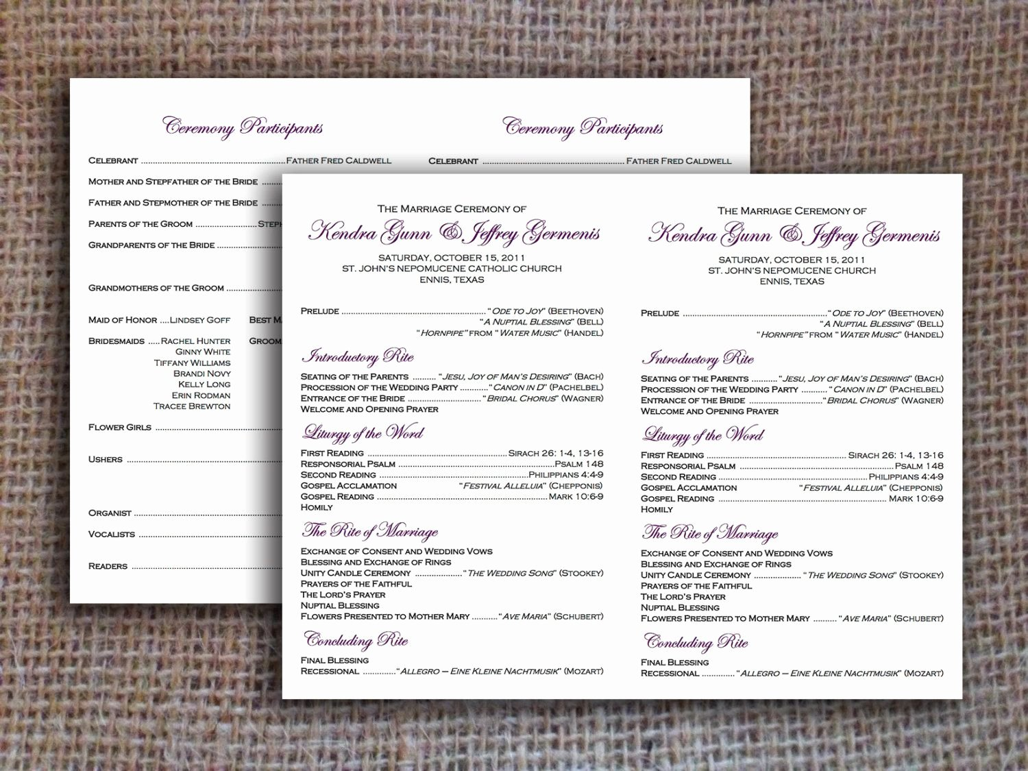 Free Catholic Wedding Ceremony Program Template Beautiful Flat Catholic Program Template Wedding