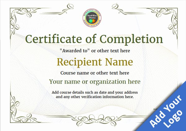 Free Certificate Of Destruction Template New Sample Certificate Data Destruction