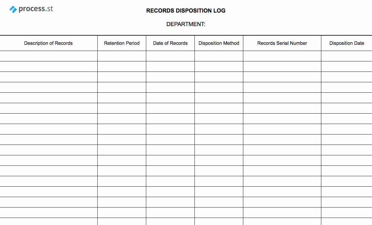 Free Certificate Of Destruction Template Unique Records Disposal Checklist