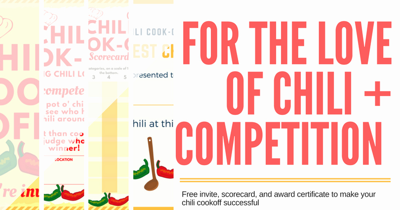 Free Chili Cook Off Award Certificate Template Inspirational Chili Cook Off Insider Another Free Invite Scorecard