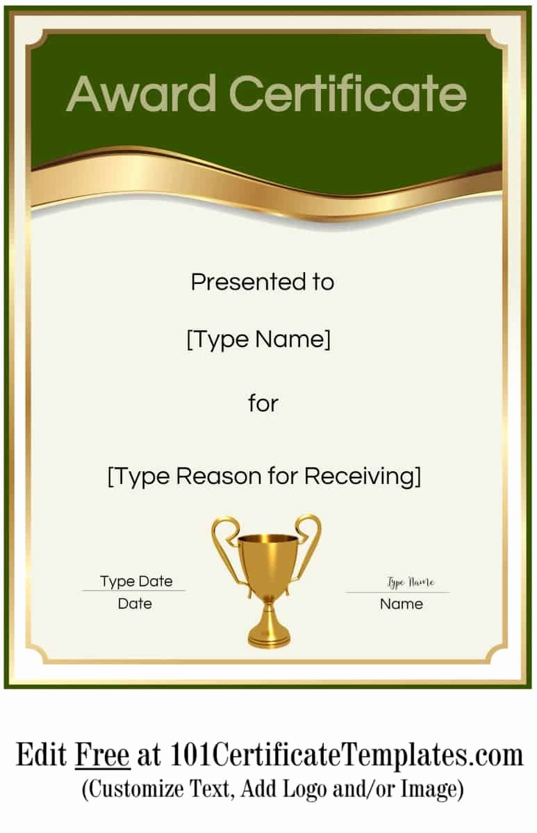 Free Customizable soccer Certificates Beautiful Free Printable Certificate Templates