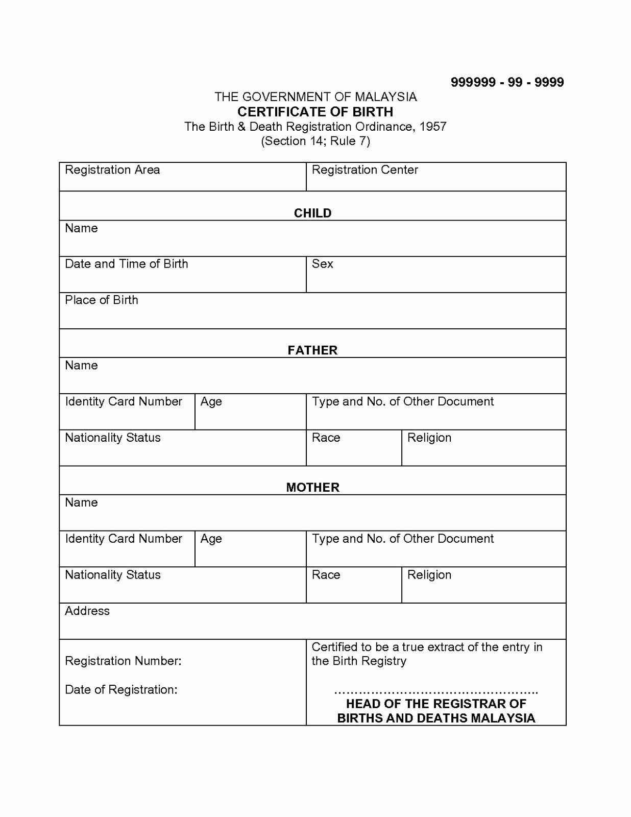 Free Death Certificate Template Beautiful Certificate Templates 6 Best Of Marriage