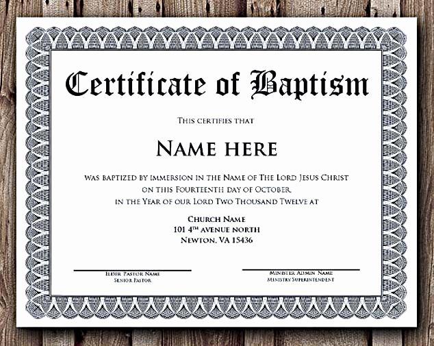 Free Edit Baptism Certificate Template Word Beautiful Baptism Certificate Word Editable Template Selecting