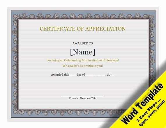 Free Edit Baptism Certificate Template Word Luxury Certificate Of Appreciation Editable Word Template