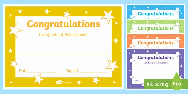 Free Editable Maths Certificates Fresh Congratulations Certificate