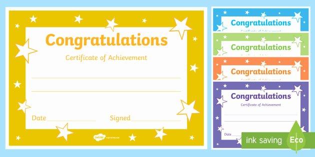 Free Editable Maths Certificates Inspirational Congratulations Certificate