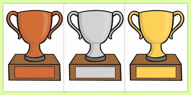 Free Editable Maths Certificates Inspirational Free Editable Classroom Award Trophies Reward