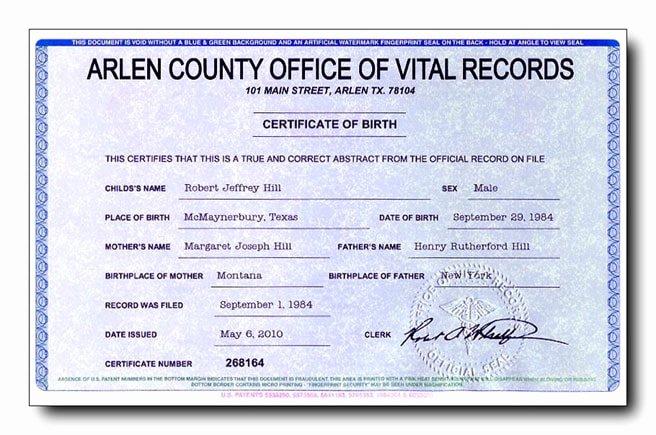 Free Fake Birth Certificate Fresh Fake Birth Certificates Starting as Low as $49 Each