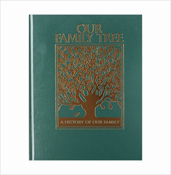 Free Family History Book Template Beautiful Family Tree Book Template – 11 Free Sample Example