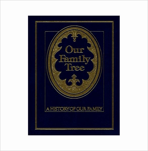 Free Family History Book Template Inspirational Family Tree Book Template – 11 Free Sample Example