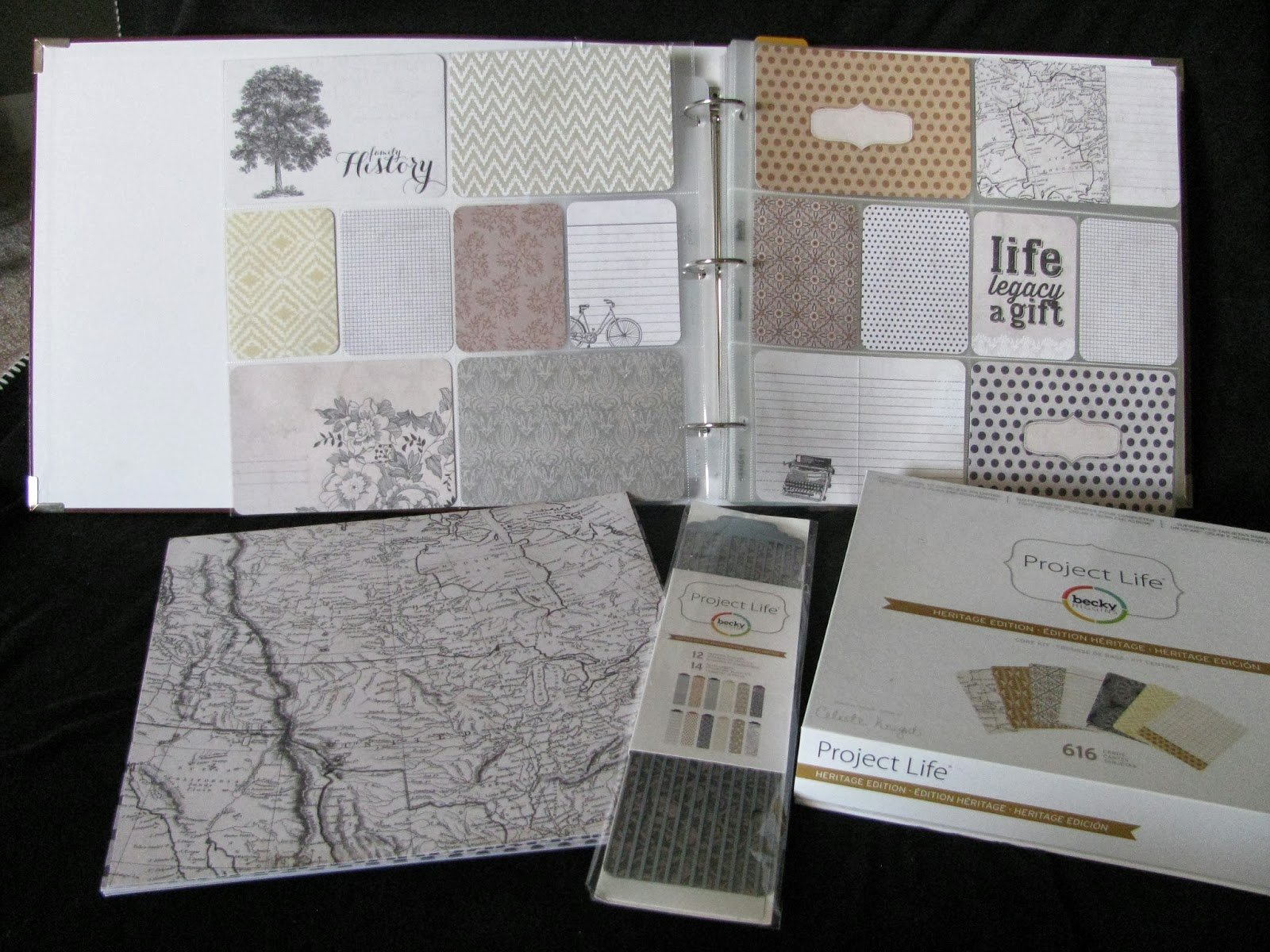 Free Family History Book Template Lovely Happy2bscrappin & Reviewing Heritage Kit by Project Life