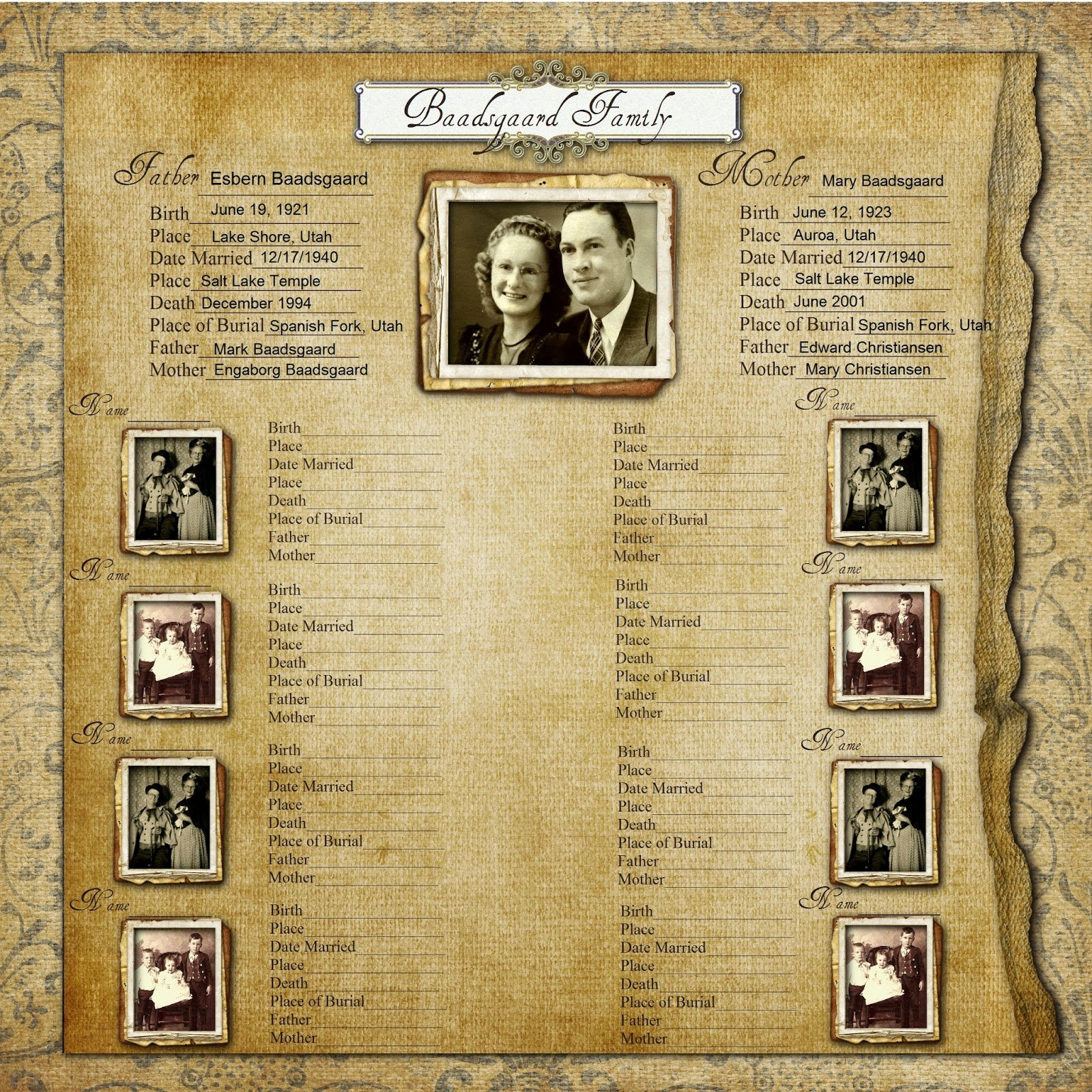 Free Family History Book Template New Geneawebinars Make A Free Family History Chart Free Webinar