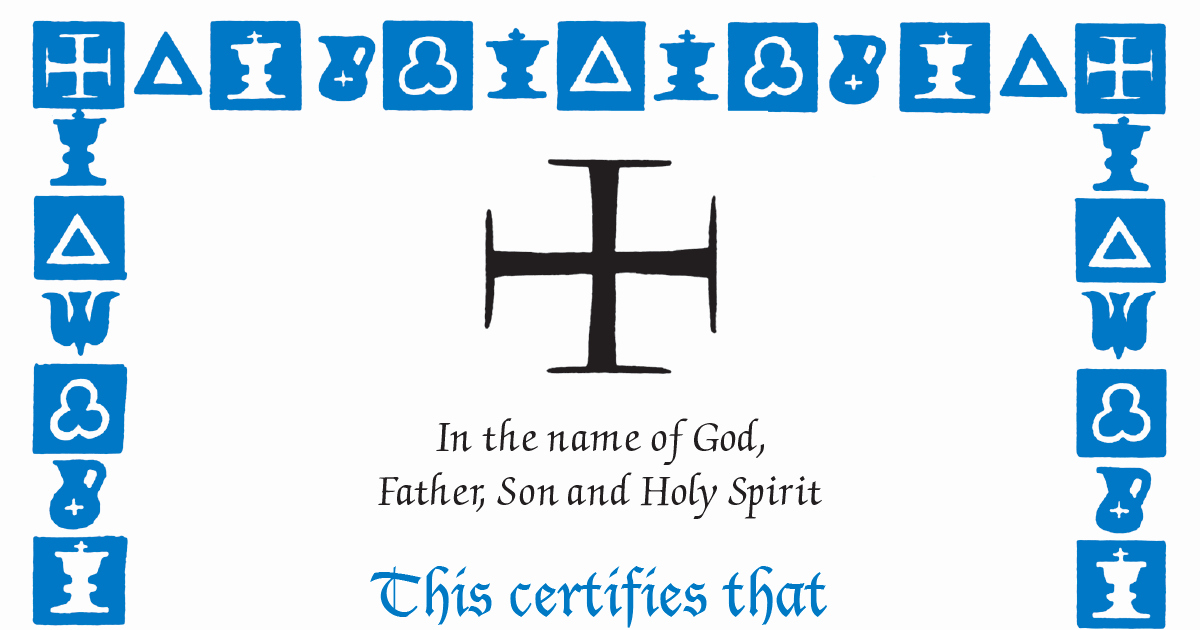 Free Fillable Baptism Certificate Beautiful Fillable Baptism and Sponsor Certificates the Anglican