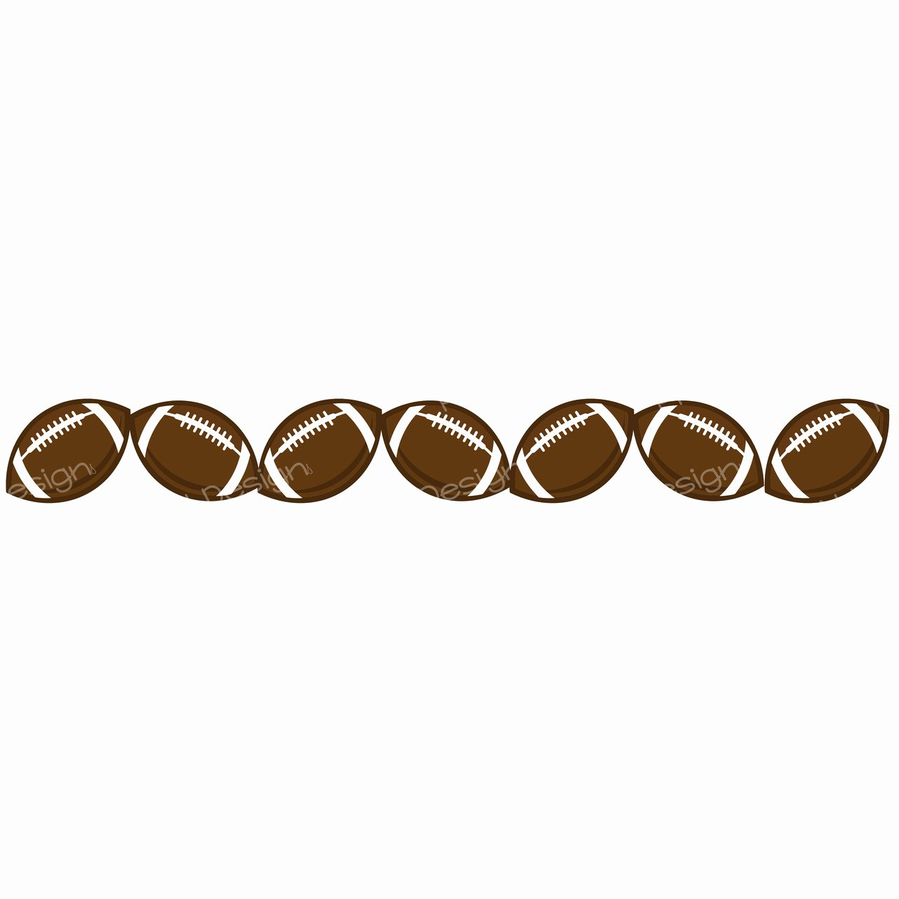 Free Football Border Template Best Of Best Football Border Clipart Clipartion