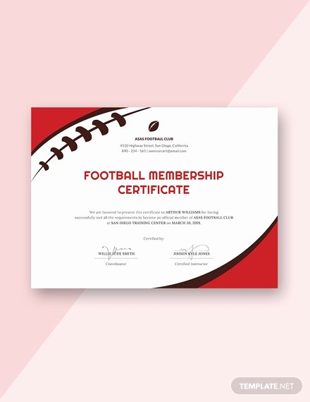 Free Football Certificate Templates Luxury Free Divorce Certificate Template Download 200