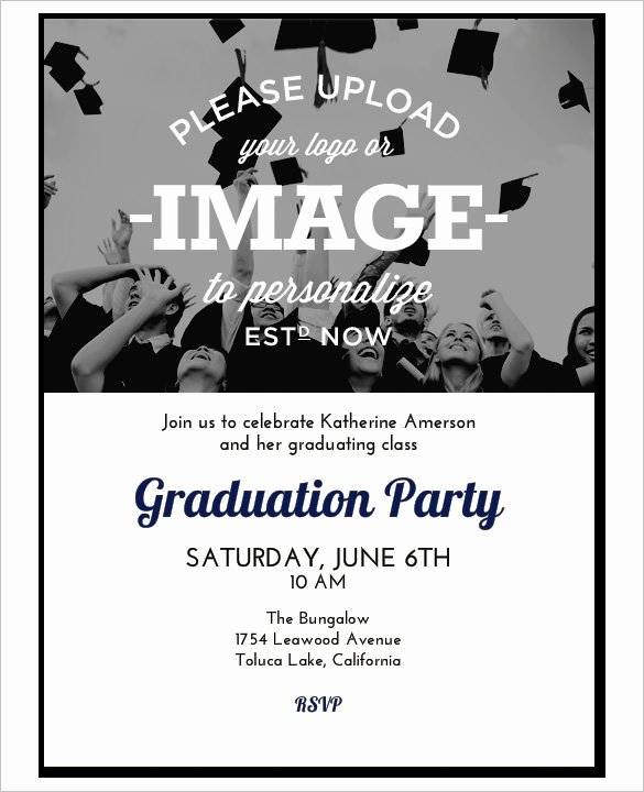 Free Graduation Templates for Word Fresh Beautiful Free Graduation Printable Invitation Templates