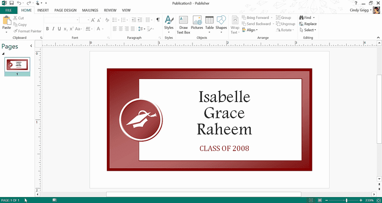 microsofts best graduation templates