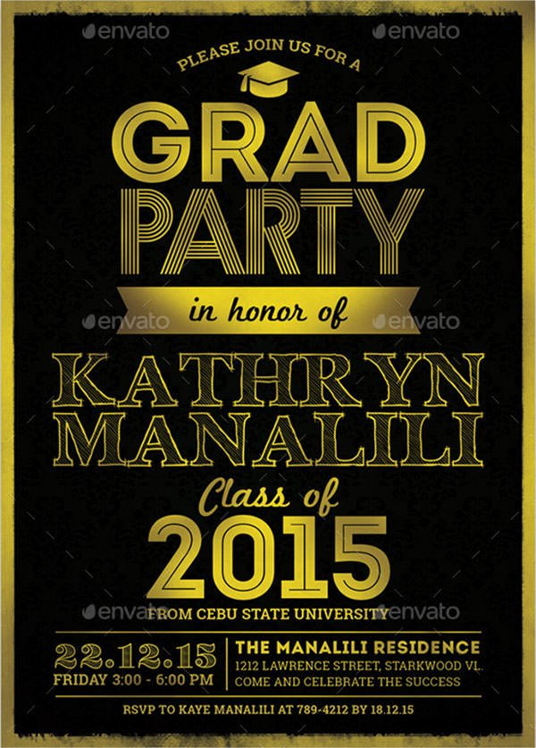 Free Graduation Templates for Word Luxury Free 11 Beautiful Graduation Invitation Templates In