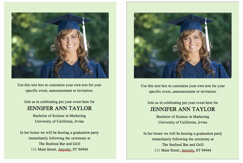 Free Graduation Templates for Word New Free Graduation Invitation Template – Celebrations Of Life