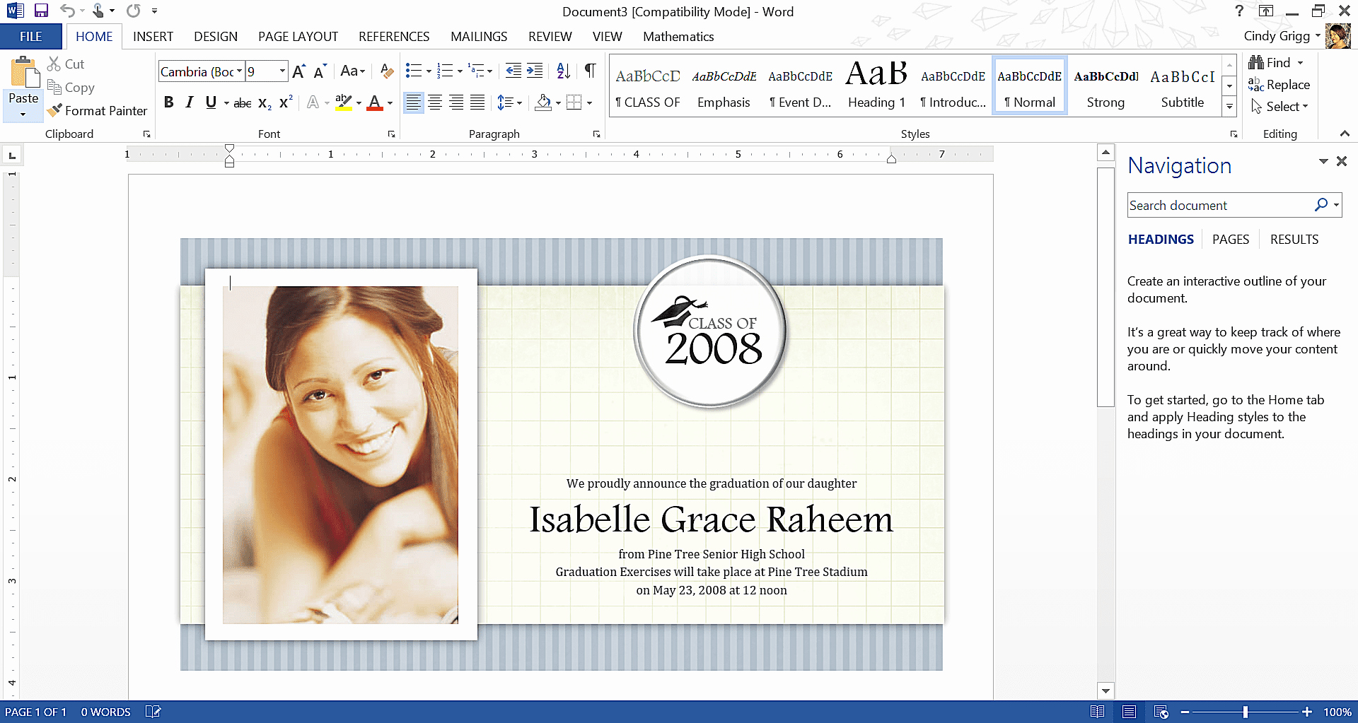 Free Graduation Templates for Word New Get Microsoft S Best Graduation Templates