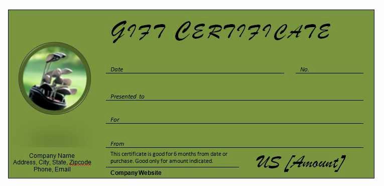 Free Hole In One Certificate Template Awesome Golf Certificate Template Zoro Blaszczak