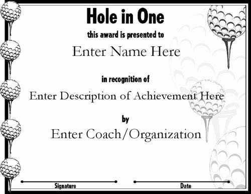 golf award quotes
