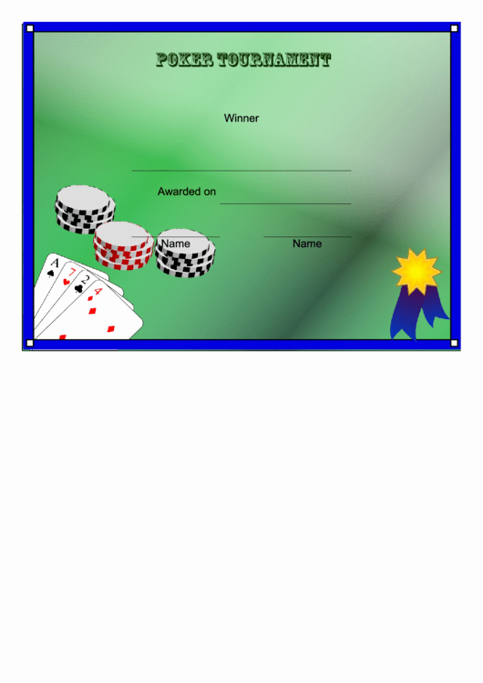Free Hole In One Certificate Template Luxury top 13 Winner Certificate Templates Free to In