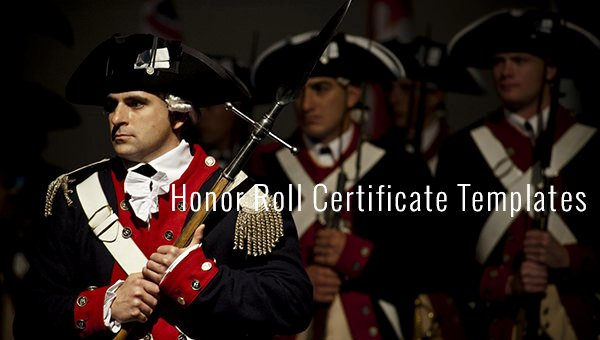 Free Honor Roll Certificate Templates Fresh 8 Printable Honor Roll Certificate Templates & Samples
