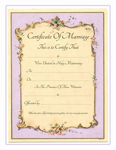 Free Marriage Certificate Download Awesome Keepsake Marriage Certificate Free Printable Vintage
