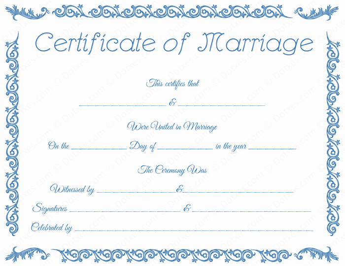 Free Marriage Certificate Download Elegant Printable Marriage Certificate Template Dotxes