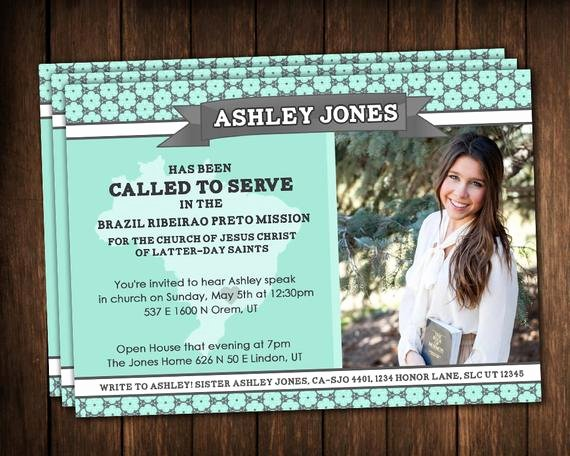 Free Missionary Prayer Card Template Best Of Missionary Announcements Missionary Cards Aqua Teal by