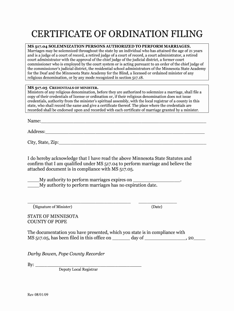 Free ordination Certificate Download Lovely Downloadable Line ordination Certificate Fill Line