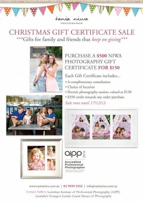 Free Photo Session Gift Certificate Template Elegant Graphy Gift Certificate Template Free