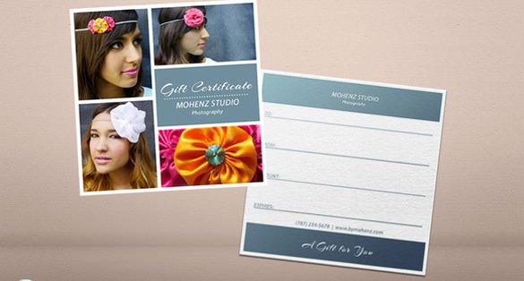 Free Photo Session Gift Certificate Template Fresh Graphy Gift Certificate Templates – 17 Free Word