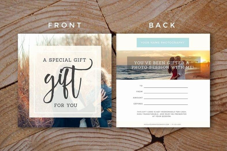 Free Photo Session Gift Certificate Template Inspirational 19 Pany Gift Certificate Designs & Templates Psd Ai