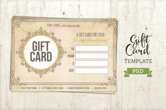 Free Photographer Gift Certificate Template Awesome Free Graphy Gift Certificate Template Psd