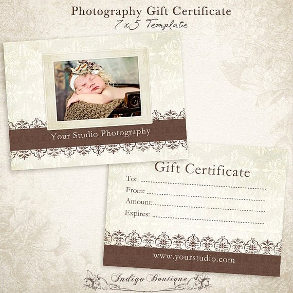 Free Photographer Gift Certificate Template Best Of Graphy Gift Certificate Photoshop Template Id046