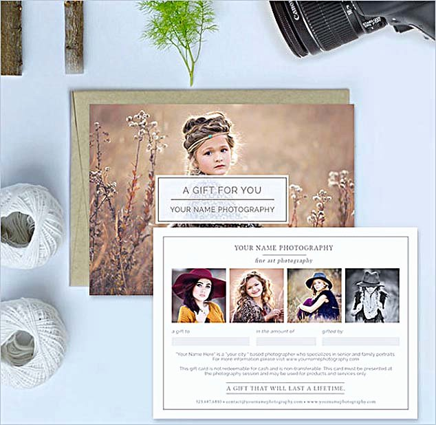 Free Photographer Gift Certificate Template Elegant the Advantages Of Fering Graphy Gift Certificate