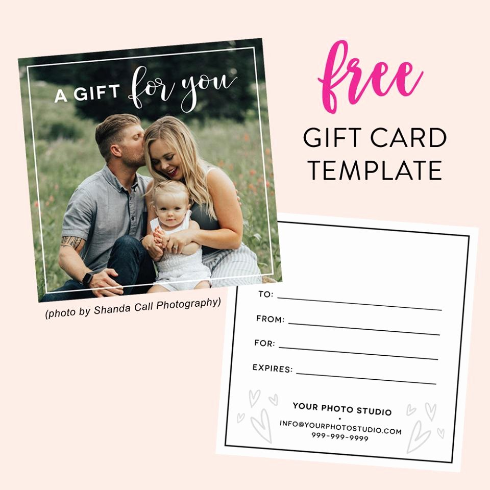 Free Photographer Gift Certificate Template New Free Gift Certificate Template for Graphers