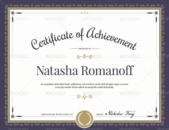 Free Photoshop Certificate Template New Free 55 Printable Award Certificate Templates In