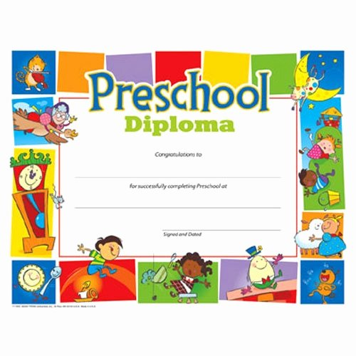 Free Preschool Certificate Template Elegant 25 Best Images About Diplomas On Pinterest