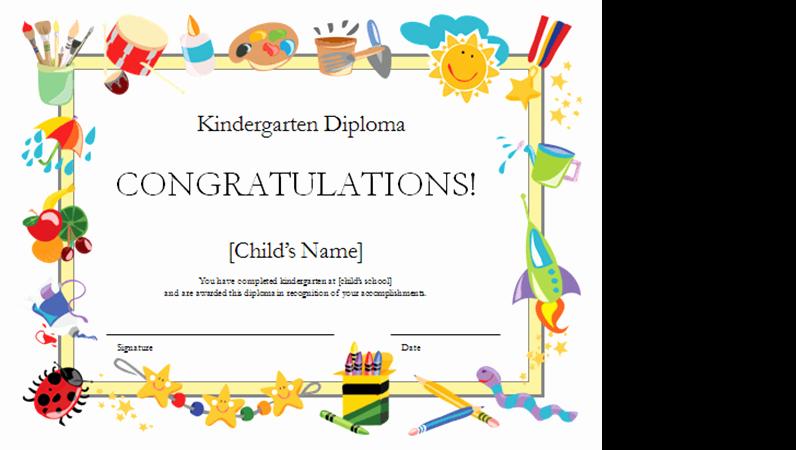 Free Preschool Certificate Templates Best Of Certificates Fice